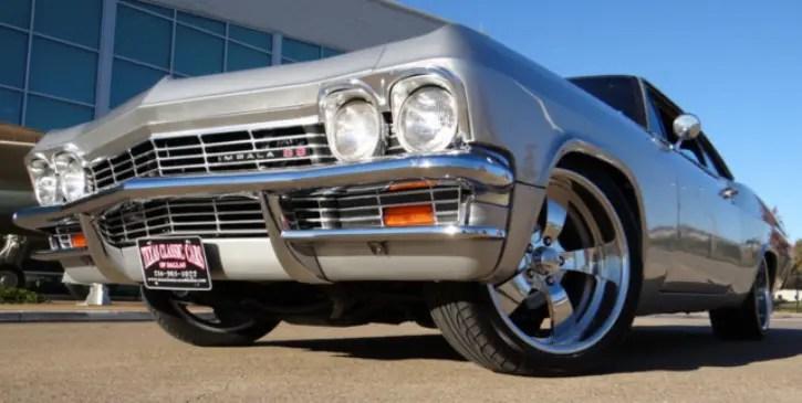1965 chevrolet impala ss restomod
