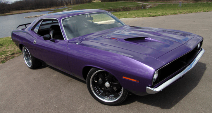pro touring 1970 plymouth hemi cuda for sale