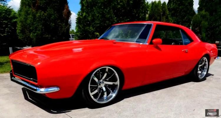 Super Clean 1968 Camaro Custom Build Up Close Hot Cars