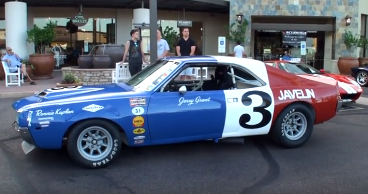 original race prepped 1969 amc javelin muscle car