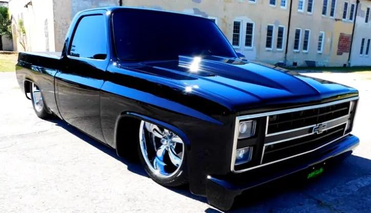 1985 chevrolet c10 custom truck