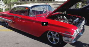 custom built 1960 chevrolet impala