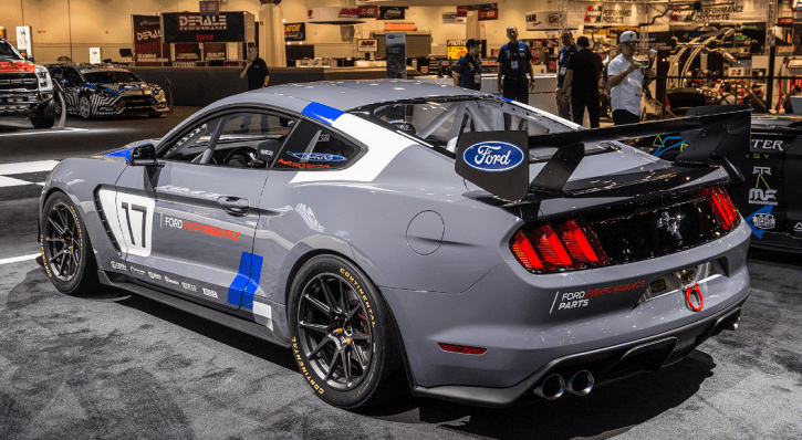 Quick Overview Of The New Mustang Gt4 Sema 2016 Hot Cars