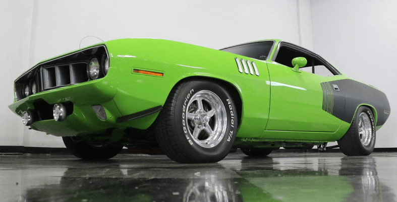 1973 plymouth hemi cuda 5-speed