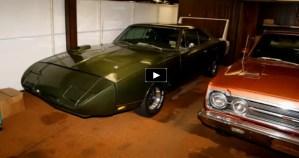 secret collection of rare mopar muscle cars
