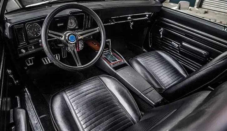 black 1969 camaro ss 396 tremendous restoration hot cars. Black Bedroom Furniture Sets. Home Design Ideas