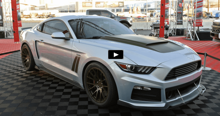 roush performance 2017 mustang p 51 edition