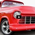 custom built 1955 chevy pick up