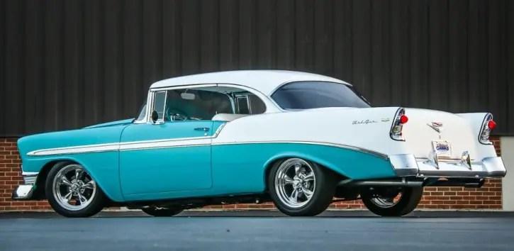 custom built 1956 chevrolet bel air