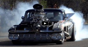 1959 chevy hulk camino rat rod