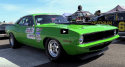 nitrous 1970 plymouth cuda drag racing