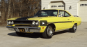 lemon twist yellow 1970 plymouth gtx