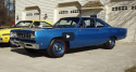 b5 blue 1968 plymouth hemi road runner