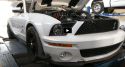 shelby mike twin turbo super snake dyno