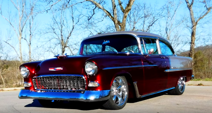 1955 chevrolet bel air project