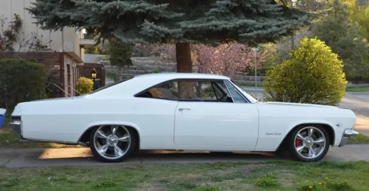 1965 chevrolet impala ss build