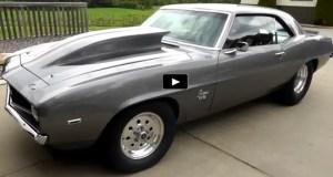 pro street 1969 chevy camaro 540 big block
