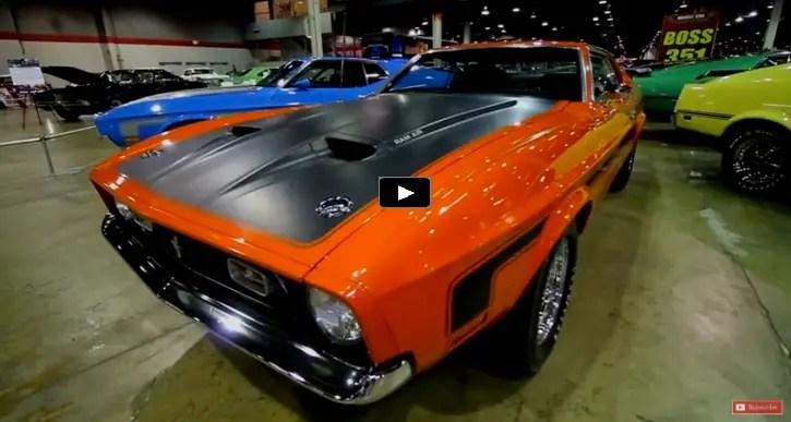 original boss 351 powered ford mustang