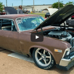 chevy unicorn nova drag racing