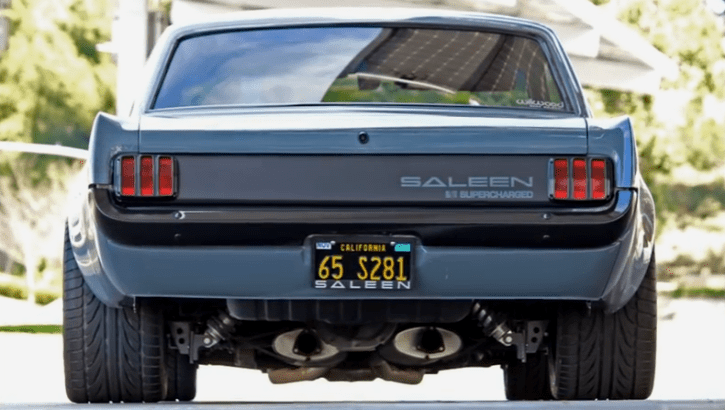 1965 Mustang saleen build