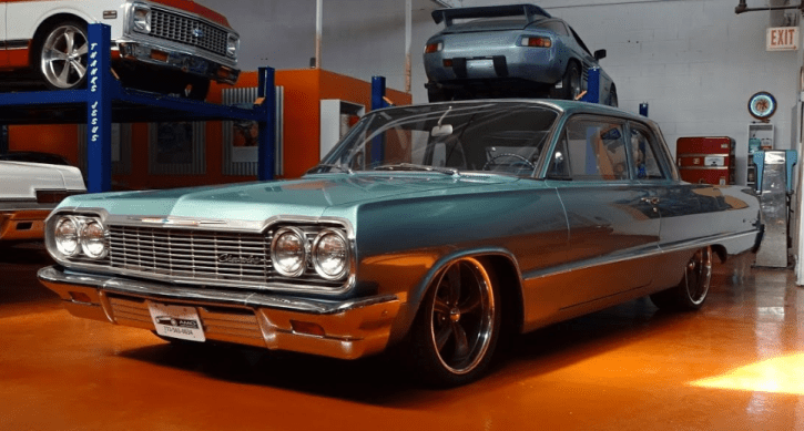 amg built 1964 chevy biscayne 327 small block