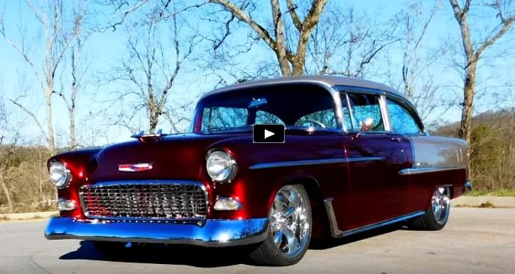 1955 chevy bel air custom job