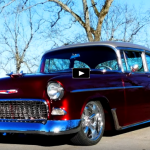 1955 chevy bel air custom job