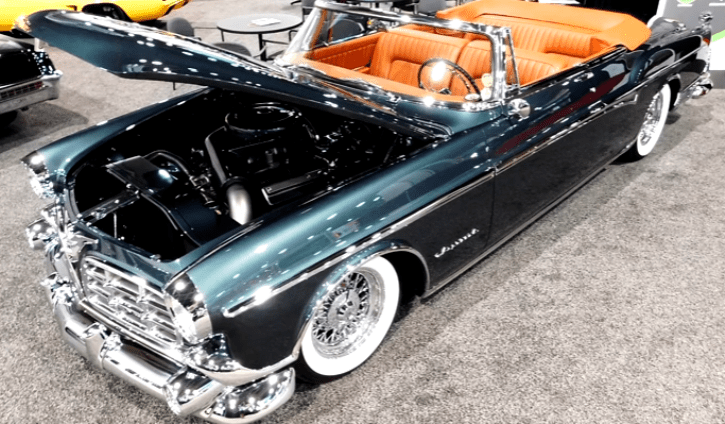 convertible 1955 chrysler imperial prototype recreation