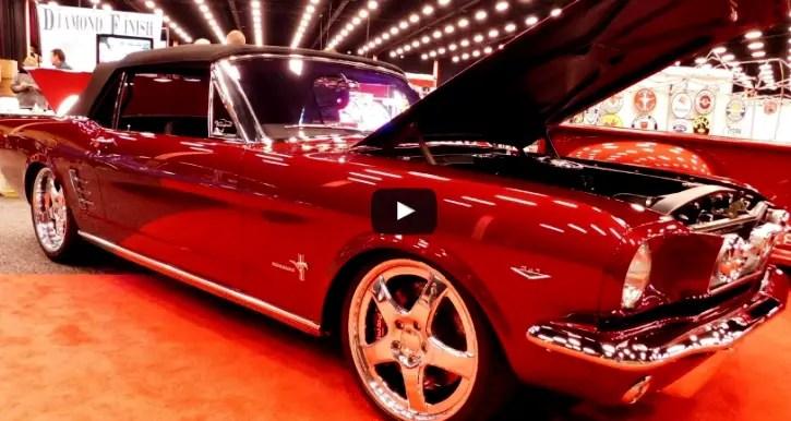 convertible 1966 ford mustang custom job