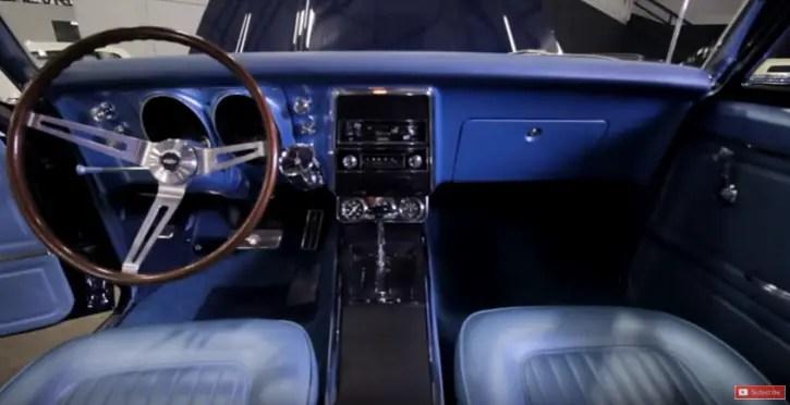 restored 1967 chevy yenko camaro street car