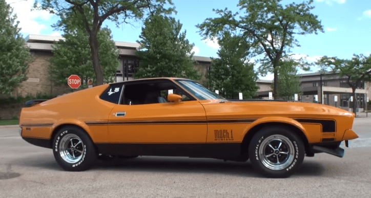 1972 ford mustang mach 1 ex race car