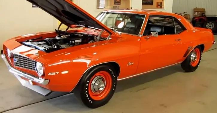 1969 chevy copo camaro zl1 recreation