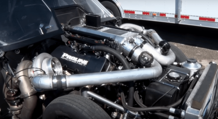 twin turbo chevy street truck
