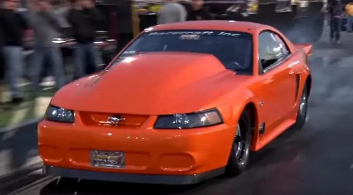 marinis motorsports cobra mustang drag racing