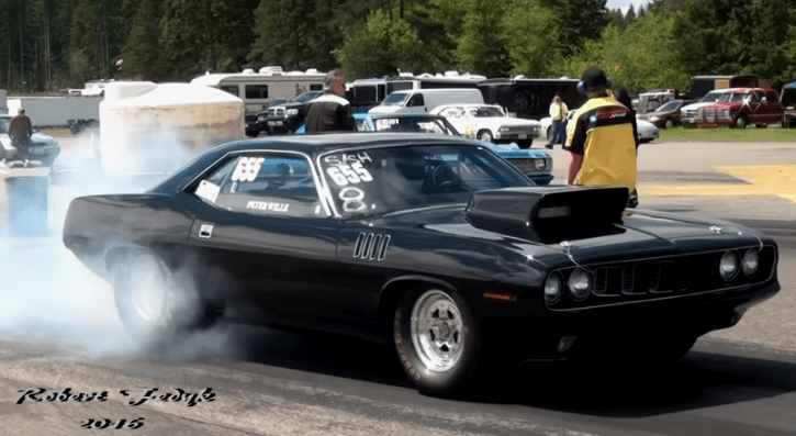 plymouth cuda 540 wedge motor