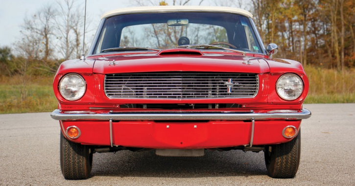 1966 shelby gt350 convertible test car