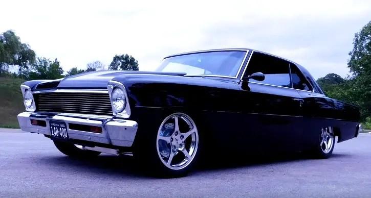Custom built 1966 chevy II nova