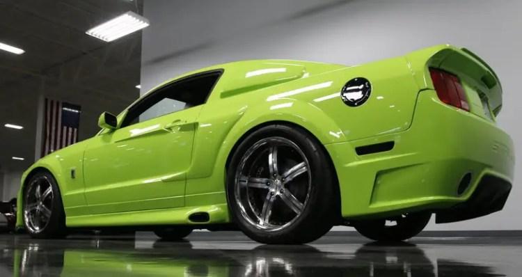 grabber green 2006 mustang gt show car