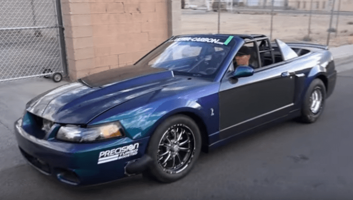 1400hp convertible ford mustang cobra