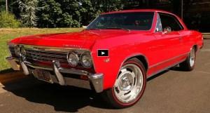 restored 1967 chevy chevelle malibu