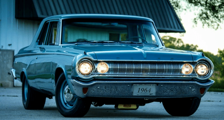 restored 1964 dodge 330 max wedge