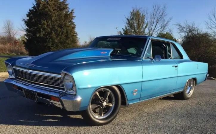 9 second all motor 1966 chevy nova