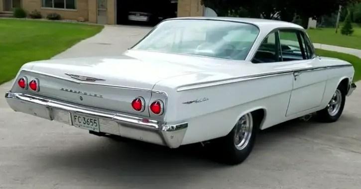 custom built 1962 chevy belair 540
