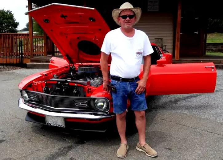 1970 ford mustang john kaase 572 motor