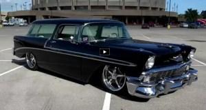 custom 1956 chevy nomad restomod