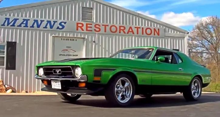 1971 ford mustang 347 stroker build