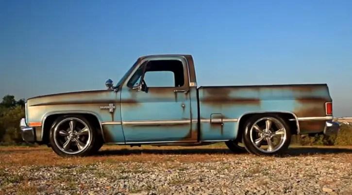 patina 1986 chevy silverado truck