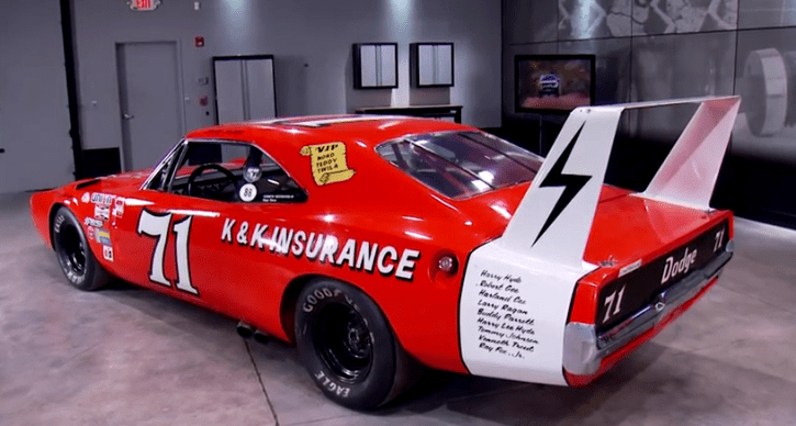 The K K 1969 Dodge Charger Daytona 71 Race Car Hot Cars