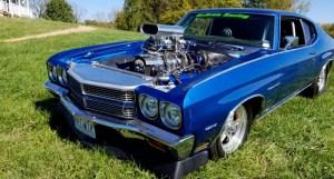 blu mcbride 1970 chevy chevelle