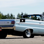 light blue 1966 plymouth hemi belvedere II